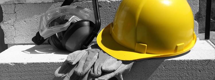 תאונות עבודה - קסדה צהובה